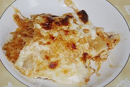 Sauerkraut-Lasagne 16