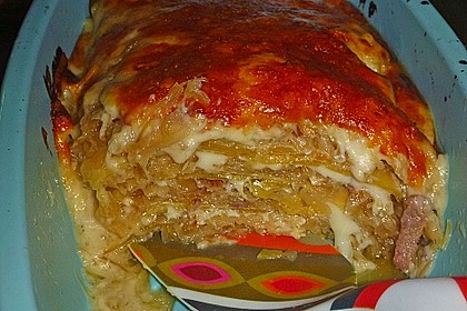 Sauerkraut-Lasagne 8