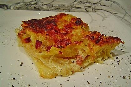 Sauerkraut-Lasagne 1