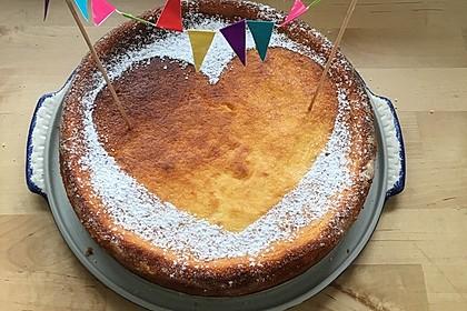Einfacher Quarkkuchen ohne Boden 12