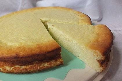 Einfacher Quarkkuchen ohne Boden 4