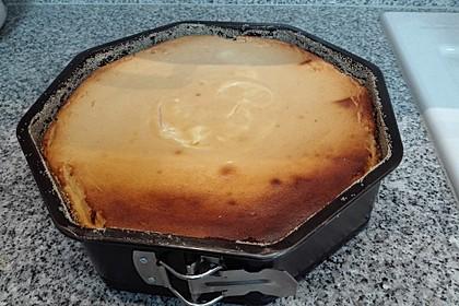 Einfacher Quarkkuchen ohne Boden 13