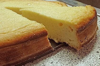 Einfacher Quarkkuchen ohne Boden 14