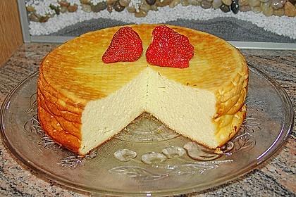Einfacher Quarkkuchen ohne Boden 2