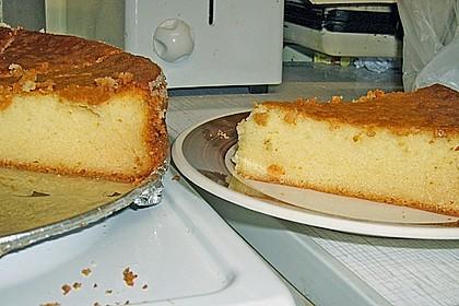 Einfacher Quarkkuchen ohne Boden 11