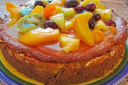Einfacher Quarkkuchen ohne Boden 9