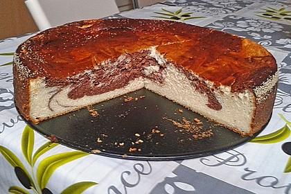 Einfacher Quarkkuchen ohne Boden 15