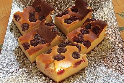 Einfacher Quarkkuchen ohne Boden 10
