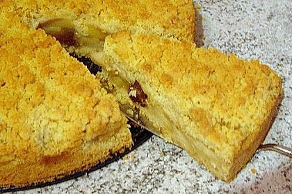 Apfel - Zimt - Krümelkuchen 10
