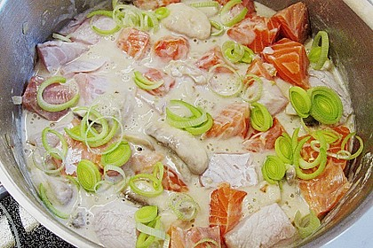 Fischragout mit Gemüse 1