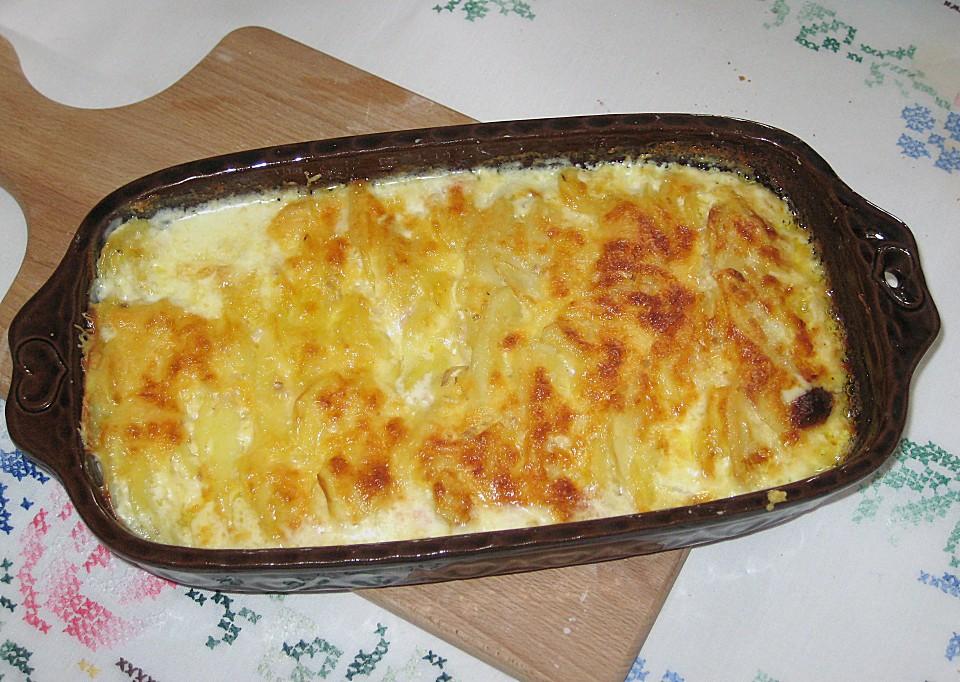 Rezept fur kartoffel gratin