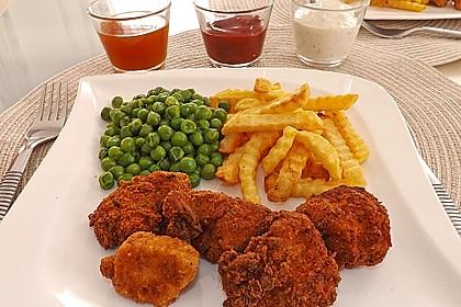 Chicken Nuggets knusprig und zart 0