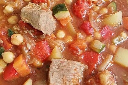 Couscous mit Lamm & Gemüse 2