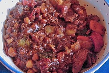 Couscous mit Lamm & Gemüse