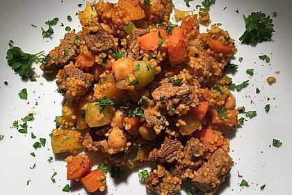 Couscous mit Lamm & Gemüse 1