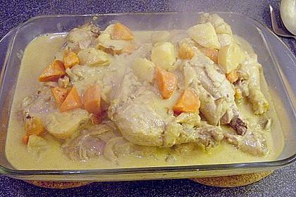 Philippinisches Chicken Curry 1