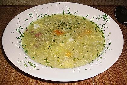 Kartoffel - Salami - Möhren - Suppe