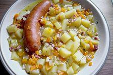Kartoffelsuppe mit Speck