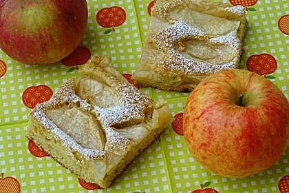 Apfelkuchen schnell und fein 7