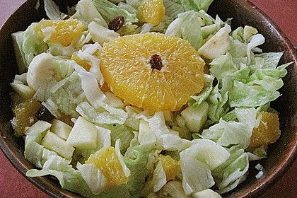 Fruchtiger Chinakohl - Salat 1