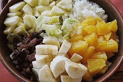 Fruchtiger Chinakohl - Salat 3