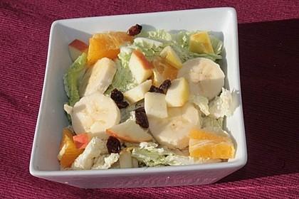 Fruchtiger Chinakohl - Salat 2