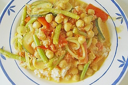 Vegetarisches Gemüsecurry 24