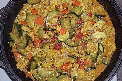 Vegetarisches Gemüsecurry 22