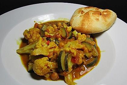 Vegetarisches Gemüsecurry 18