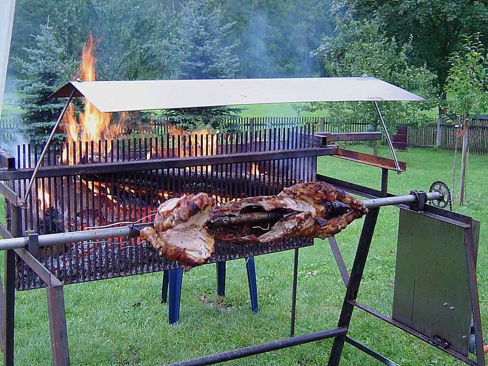 spanferkel vom grill von berkno chefkoch de
