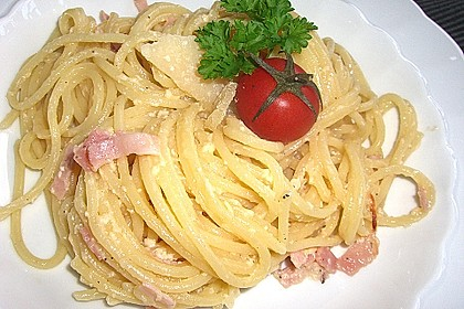 Spaghetti Carbonara 9