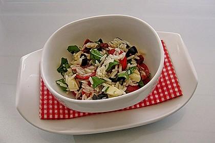 Italienischer Reissalat 1