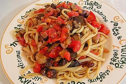 Spaghetti sizilianisch