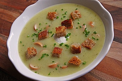 Zucchini - Kartoffelcreme Suppe 1
