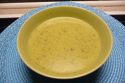 Zucchini - Kartoffelcreme Suppe 2