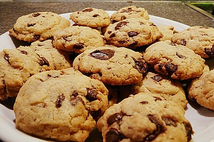 Chewy Chocolate Chip Cookies 10