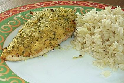 Hähnchenbrust mit Kräuterkruste 2