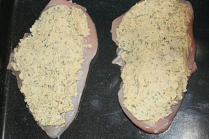 Hähnchenbrust mit Kräuterkruste 22