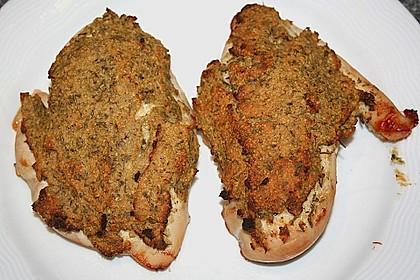 Hähnchenbrust mit Kräuterkruste 9