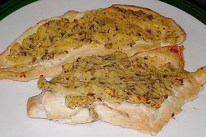 Hähnchenbrust mit Kräuterkruste 17