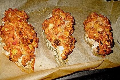 Hähnchenbrust mit Kräuterkruste 14