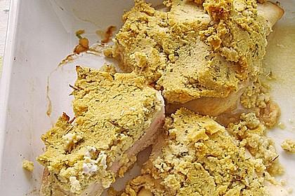 Hähnchenbrust mit Kräuterkruste 8