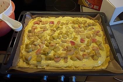 Rhabarber Blechkuchen 13