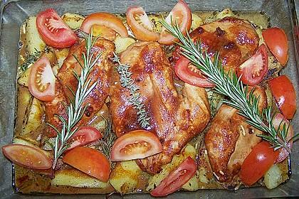Toskanischer Hähnchen - Auflauf 9