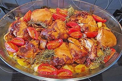 Toskanischer Hähnchen - Auflauf 8