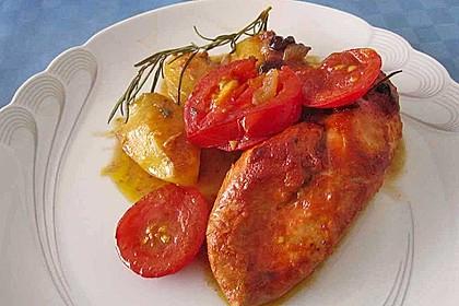 Toskanischer Hähnchen - Auflauf 34