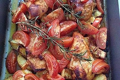 Toskanischer Hähnchen - Auflauf 50