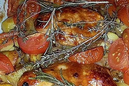 Toskanischer Hähnchen - Auflauf 104