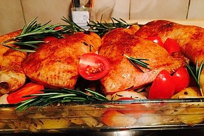 Toskanischer Hähnchen - Auflauf 23