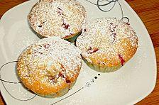 Erdbeer - Muffins mit Kokos